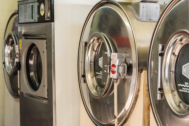 sušičky v prádelně
