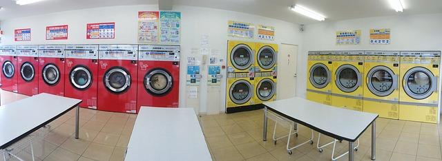 prádelna pro veřejnost