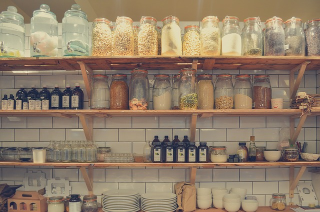 obchod s potravinami bez obalu