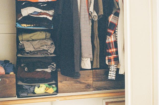 Ideálně uložené oblečení