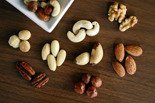 ořechy různé