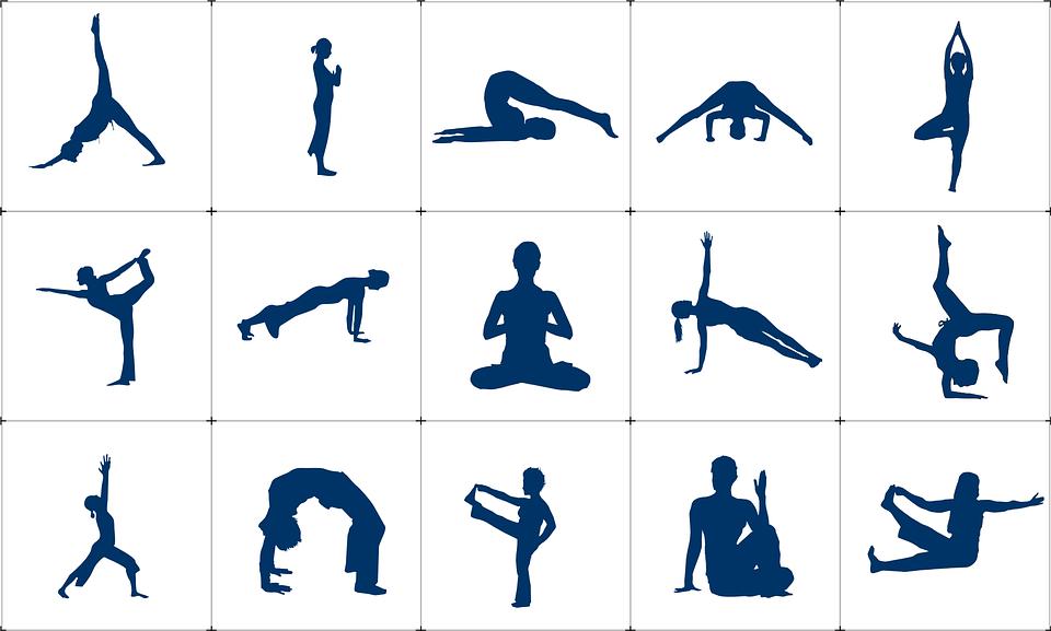 polohy cvičení