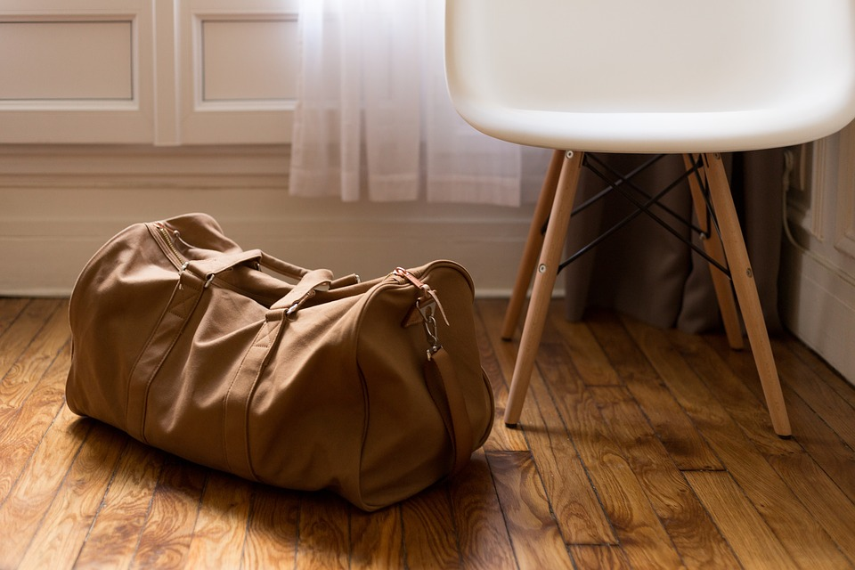 sbalená taška